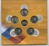 Набор монет 10 рублей - Российская Федерация (с жетоном, вальбоме) 2014 года СПМД (Россия)