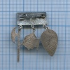 Знак «Оружейная палата» (серебро 875 пробы) (СССР)