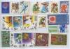 Набор почтовых марок «Спорт» (разные страны), 19 шт
