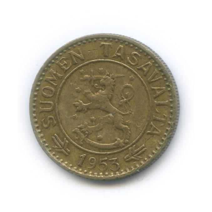 10 марок 1953 года (Финляндия)