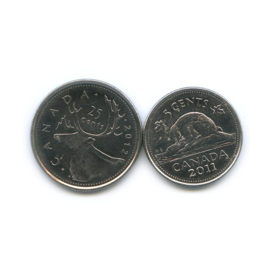 Набор монет 2011, 2012 (Канада)