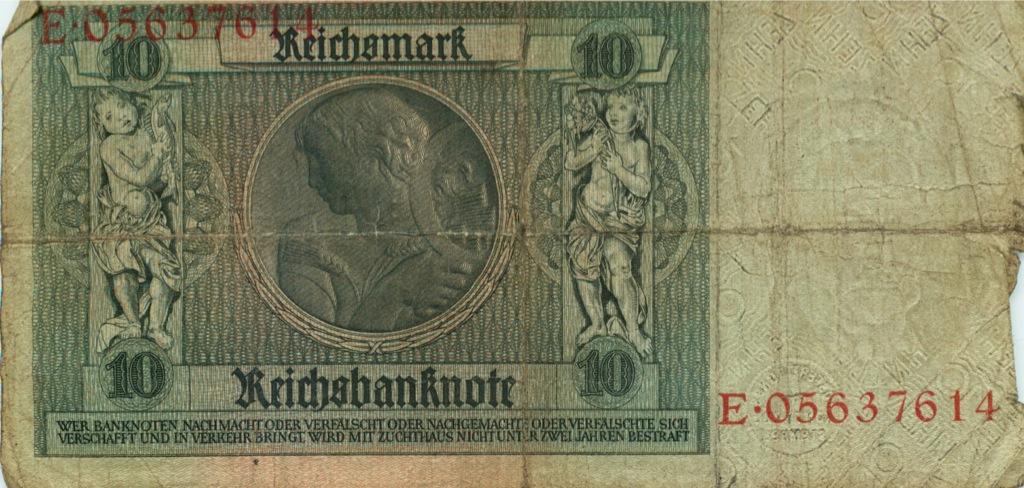 10 рейхсмарок 1924 года (Германия)