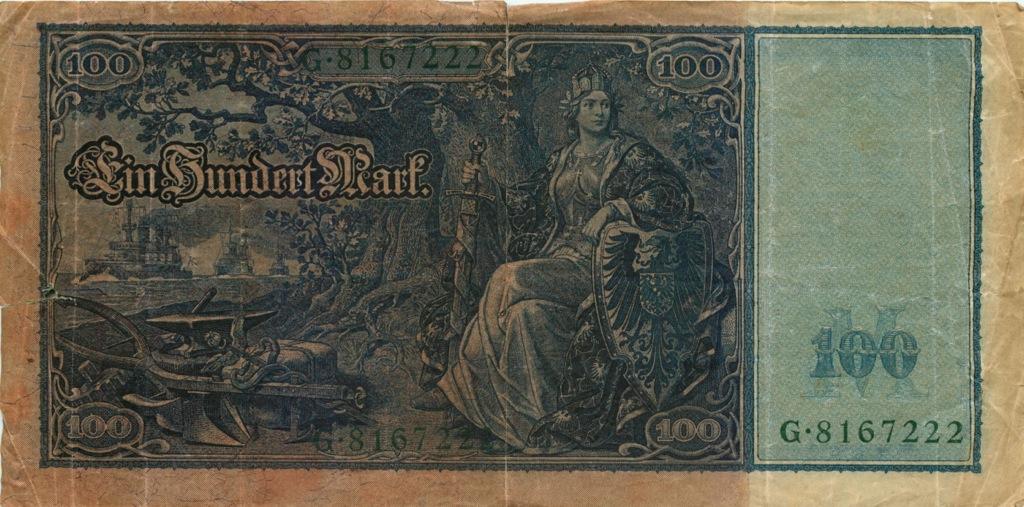 100 марок 1910 года (Германия)