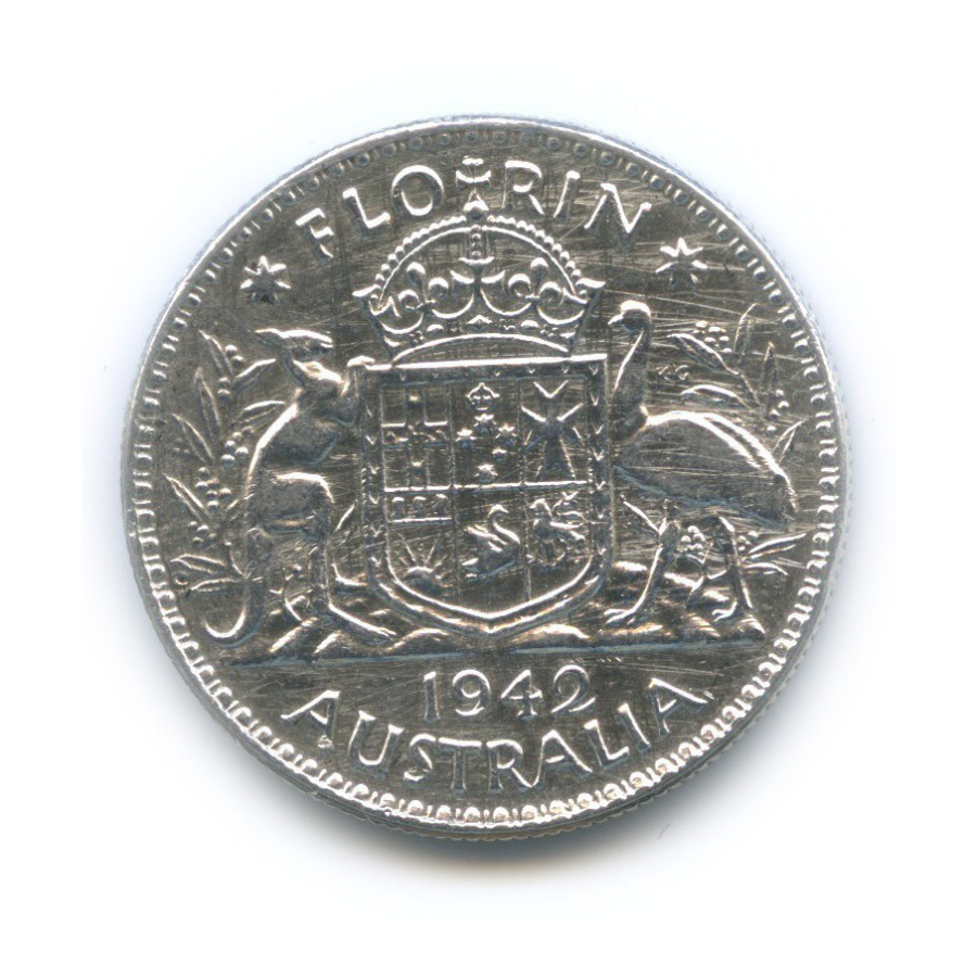 2 шиллинга (флорин) 1942 года (Австралия)