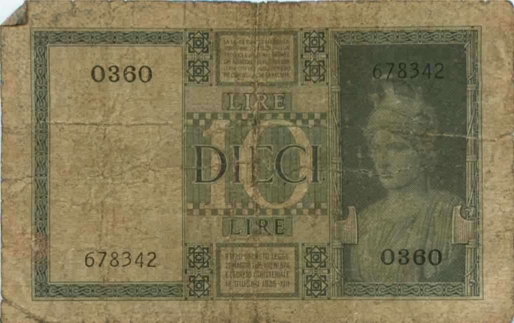 10 лир (Италия)
