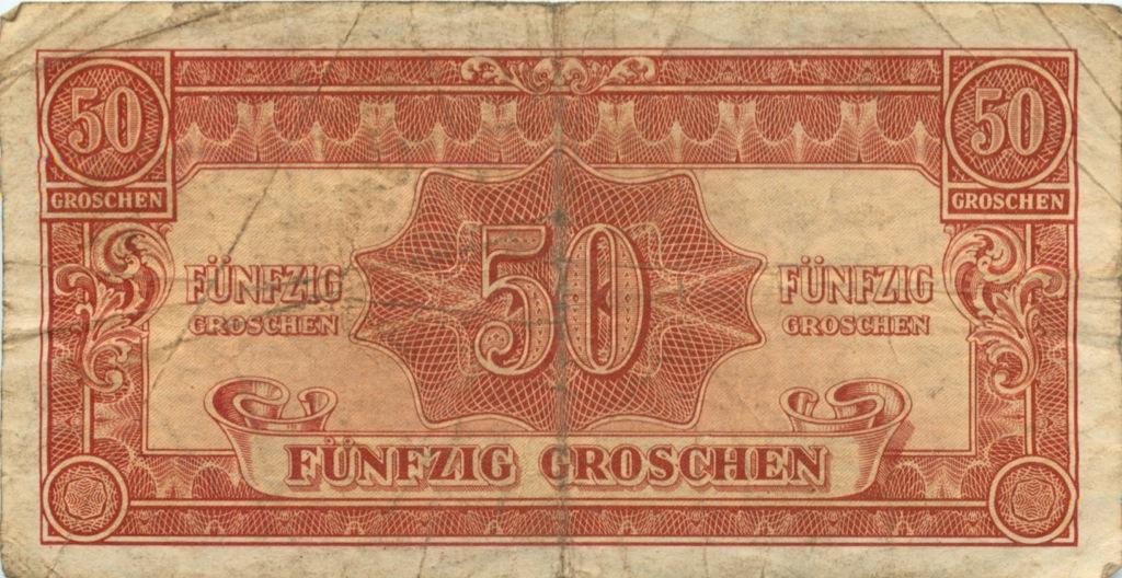 50 грошей (Оккупация союзными войсками) 1944 года (Австрия)