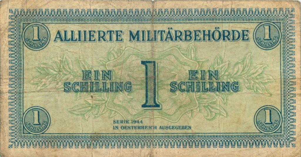 1 шиллинг 1944 года (Австрия)