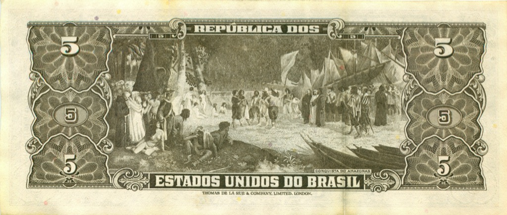 5 крузейро (Бразилия)