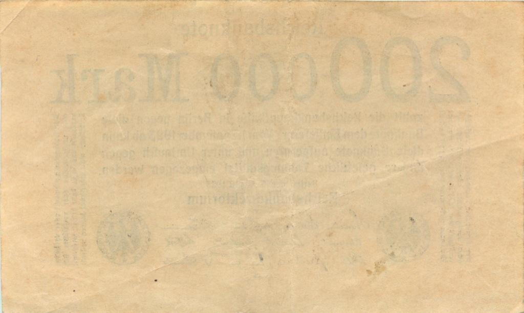 200000 марок 1923 года (Германия)