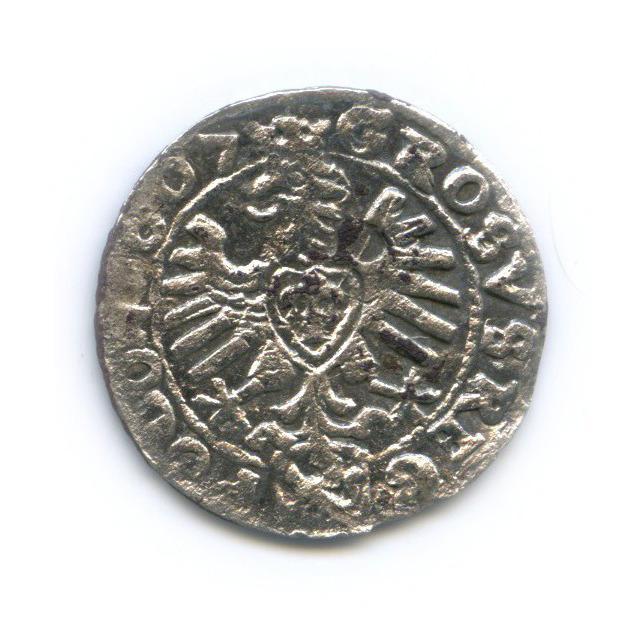 Грош - Сигизмунд III, Великое Княжество Польское 1607 года