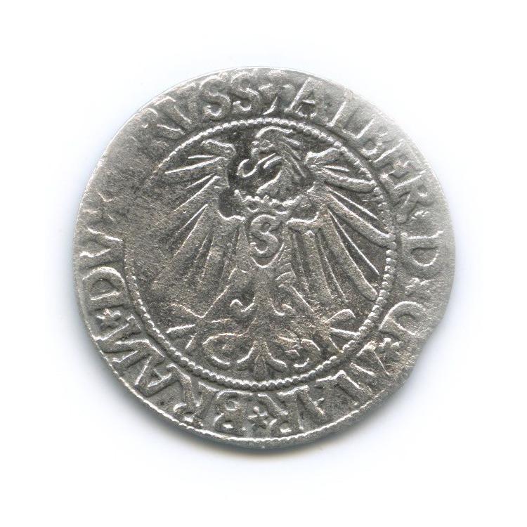 Грош - Альбрехт, Пруссия 1544 года