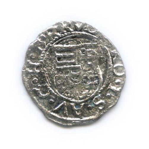 Денарий 1580 года (Венгрия)