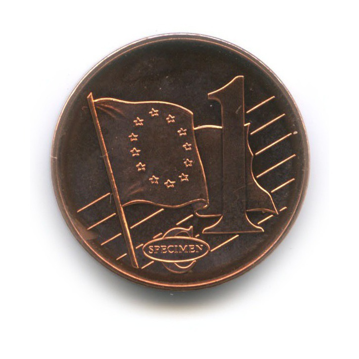 1 евроцент (пробные) 2003 года (Венгрия)