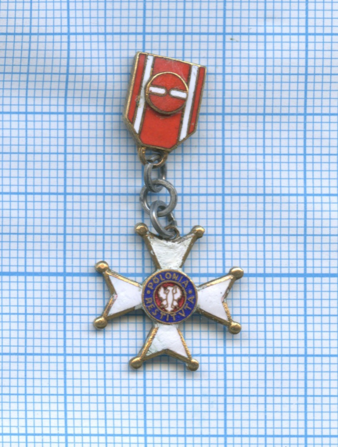 Крест «Завозрождение Польши» 1944 года (Польша)