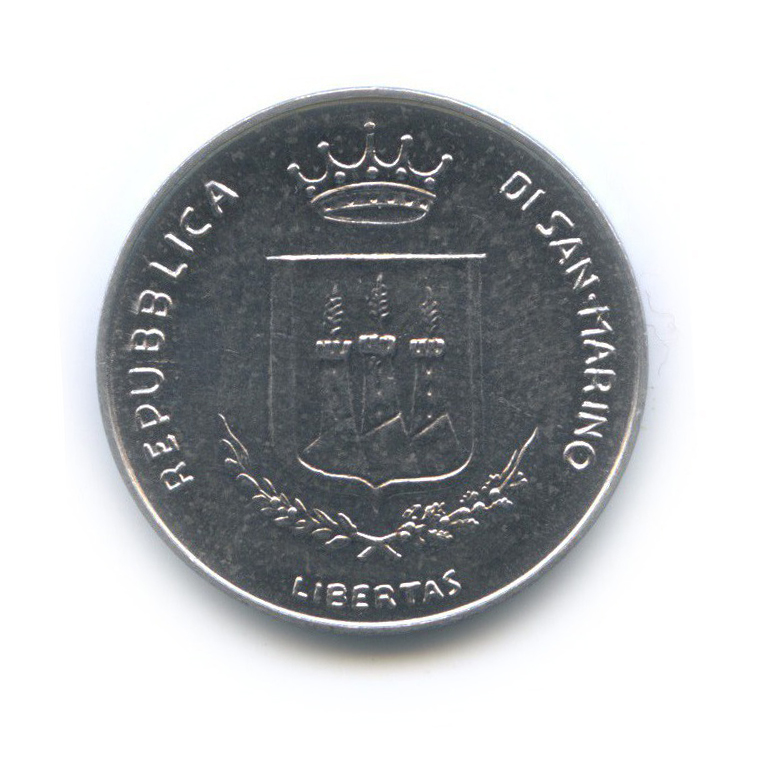 10 лир - Ядерная угроза 1983 года (Сан-Марино)
