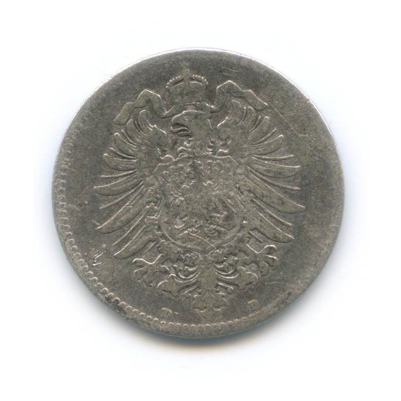 1 марка 1873 года D (Германия)