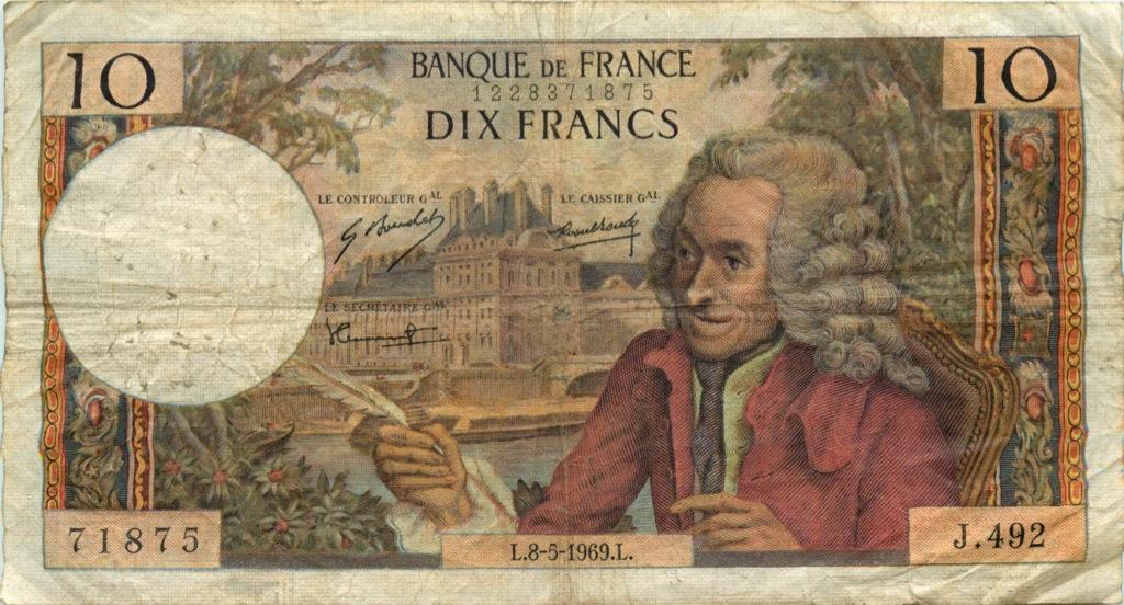 10 франков 1969 года (Франция)