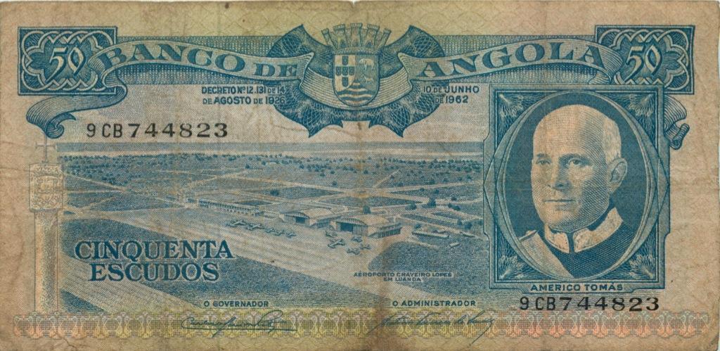 50 эскудо (Ангола) 1926 года