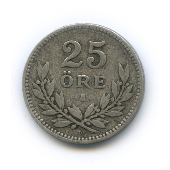 25 эре 1910 года (Швеция)