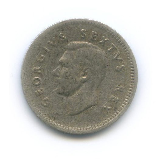 3 пенса 1950 года (ЮАР)