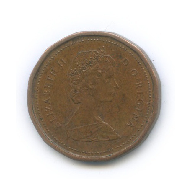 1 цент 1987 года (Канада)