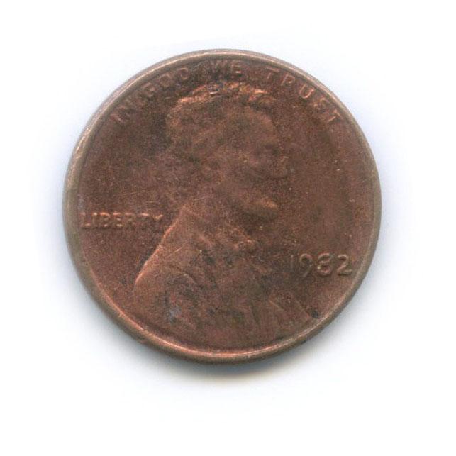1 цент 1982 года (США)