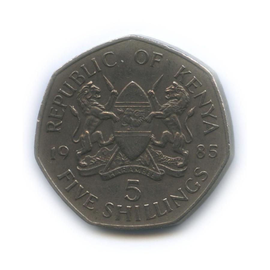 5 шиллингов 1985 года (Кения)