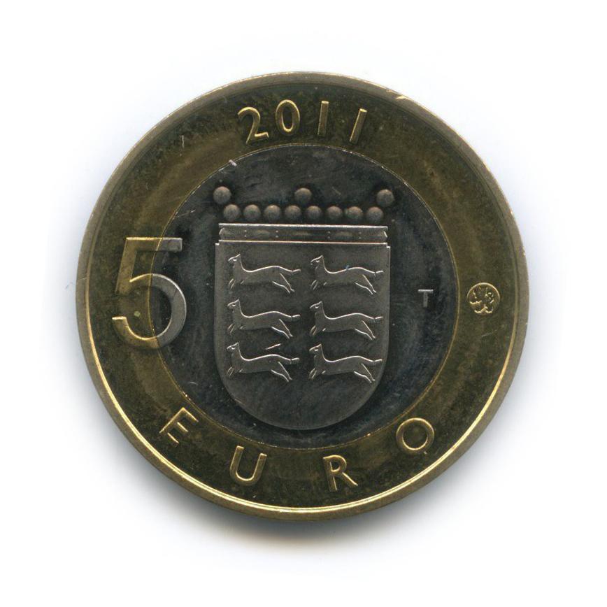 5 евро — Исторические регионы Финляндии - Остроботния 2011 года (Финляндия)