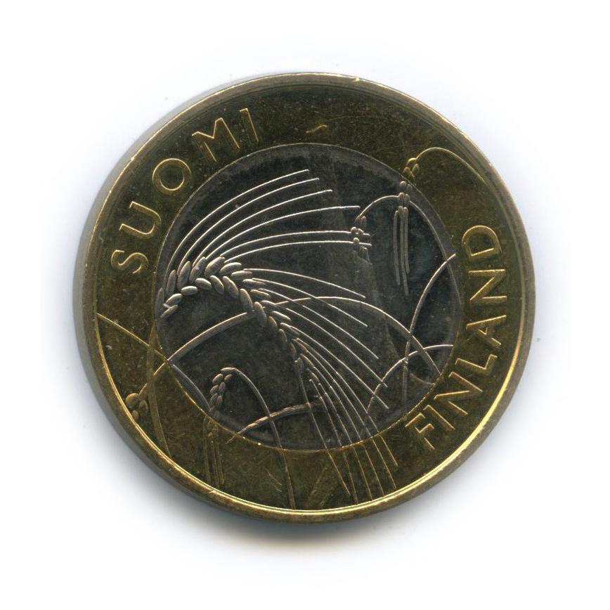 5 евро — Исторические регионы Финляндии - Савония 2011 года (Финляндия)