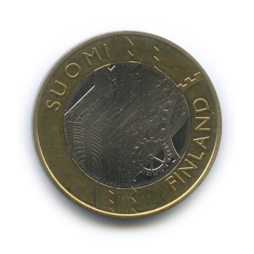 5 евро — Исторические регионы Финляндии - Уусимаа 2011 года (Финляндия)