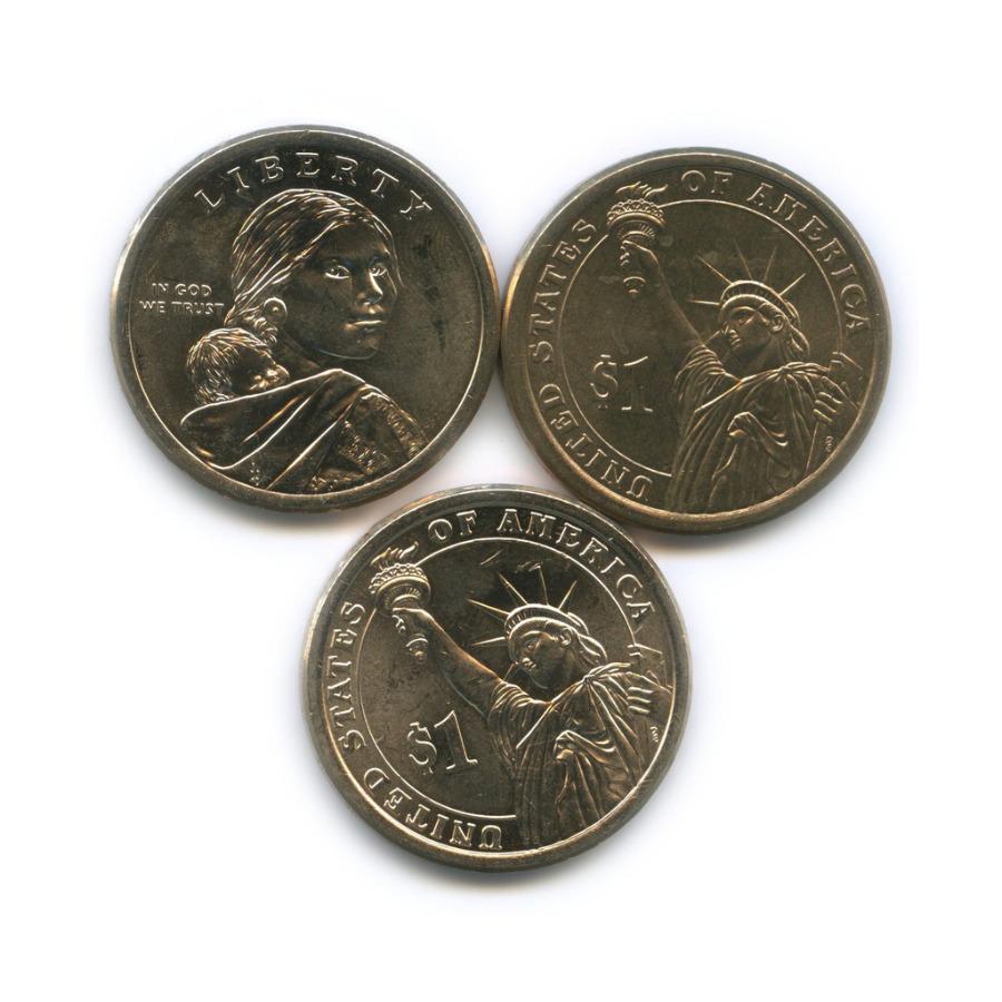 Набор юбилейных монет 1 доллар 2015, 2016 (США)