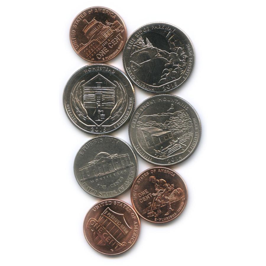 Набор юбилейных монет США (США)