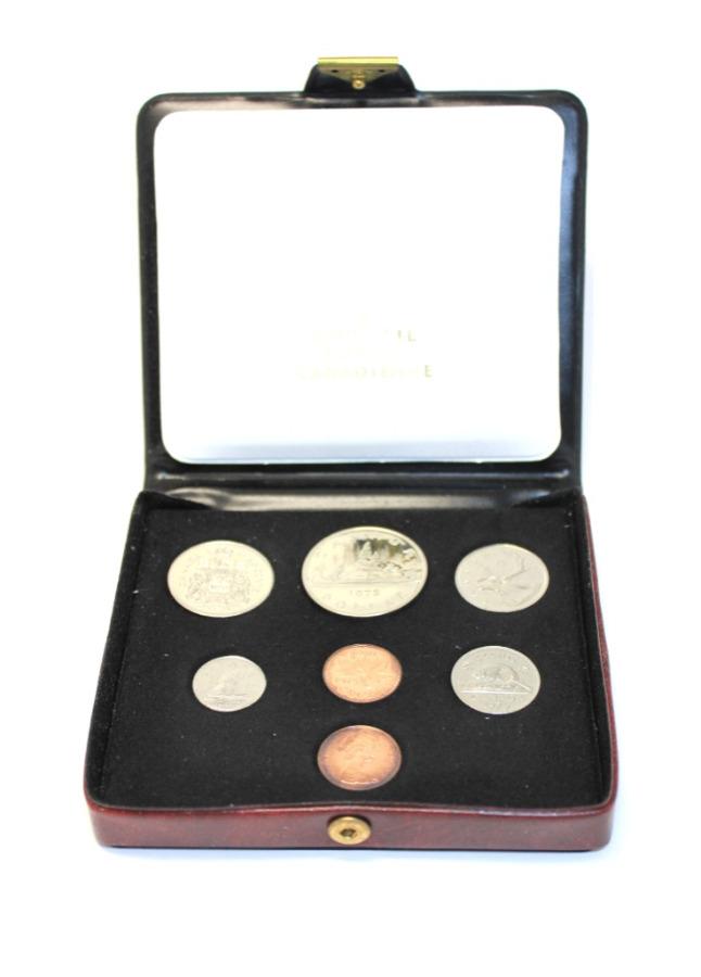 Набор монет (вфулляре) 1976 года (Канада)