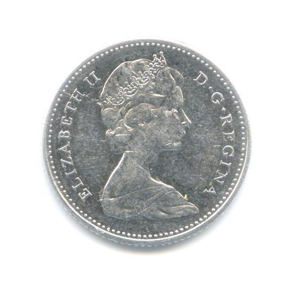 10 центов 1968 года o (Канада)