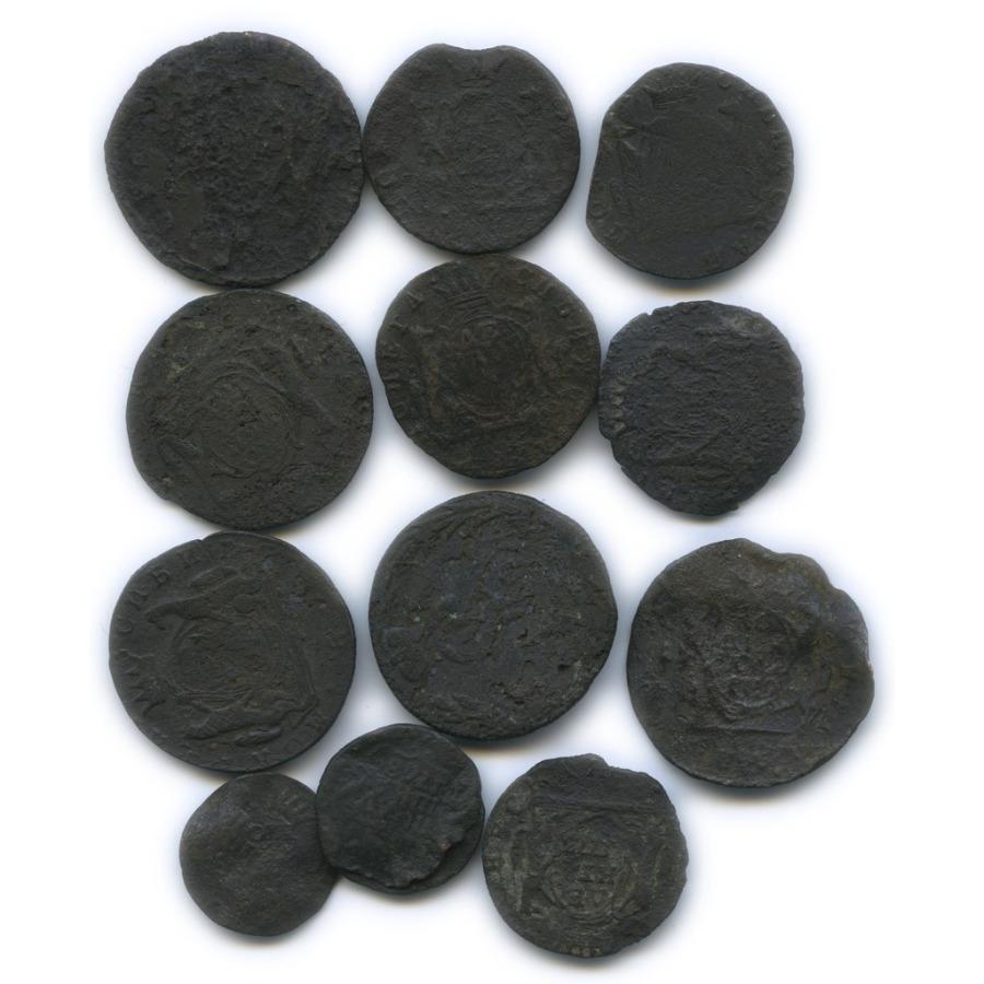 Набор монет Российской Империи (сибирские монеты) КМ (Российская Империя)