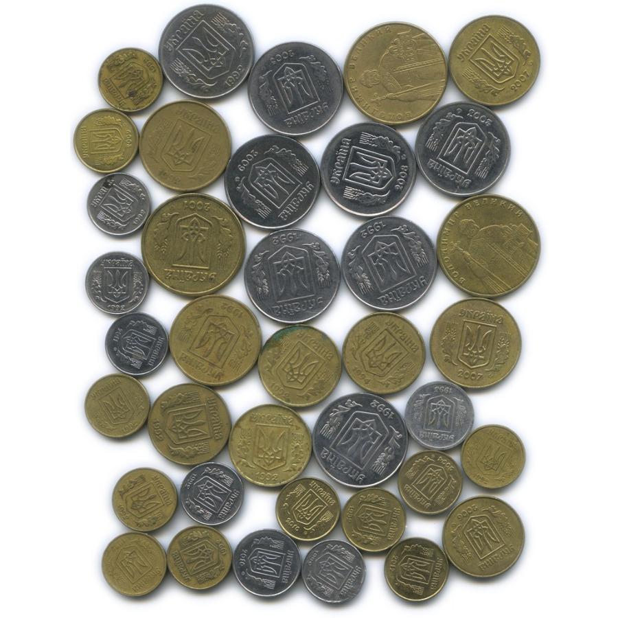 Набор монет (38 шт.) (Украина)
