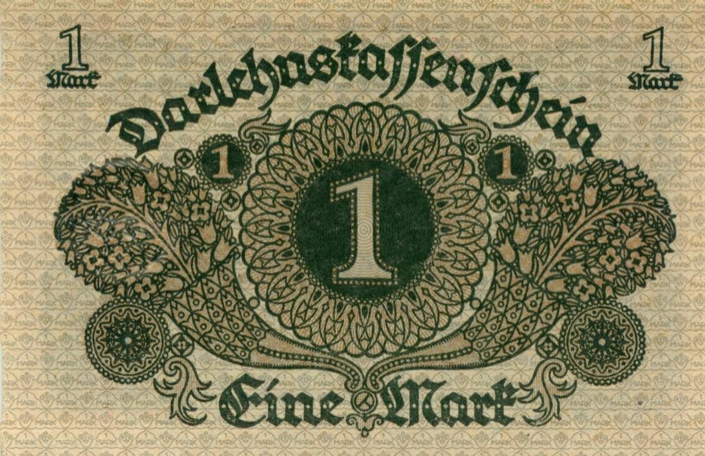 1 марка 19020 года (Германия)