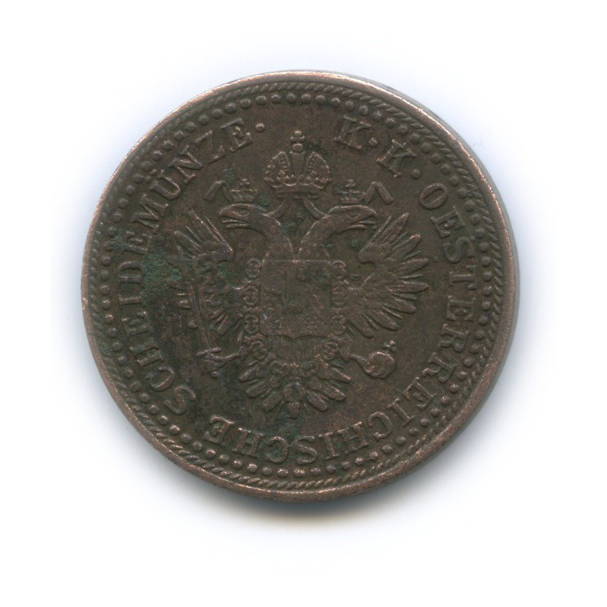2 крейцера 1851 года В (Австрия)