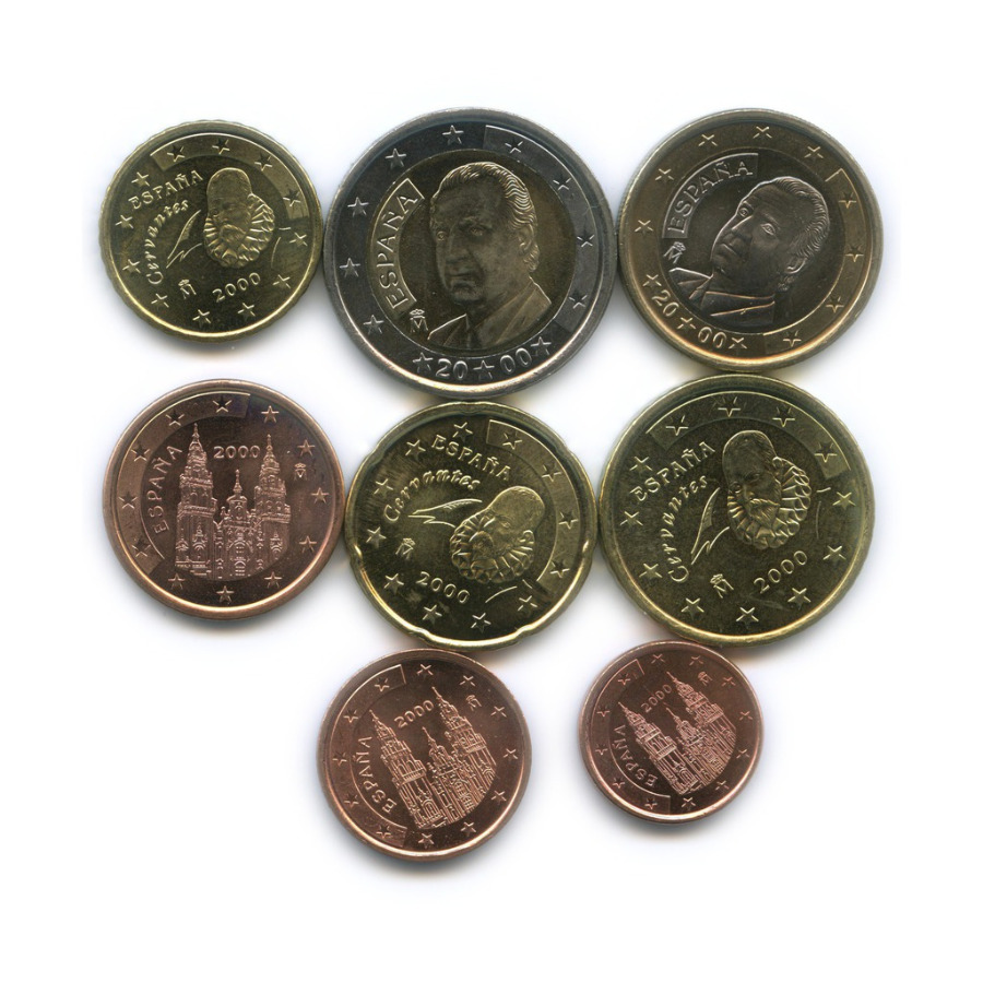 Набор монет 2000 года (Испания)