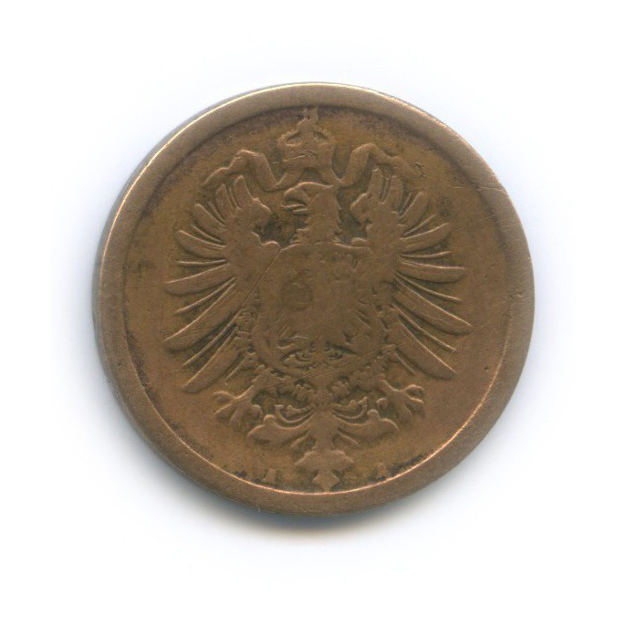 2 пфеннига 1874 года А (Германия)