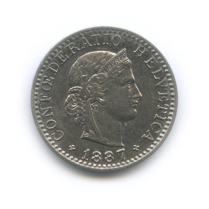 20 раппен 1887 года (Швейцария)