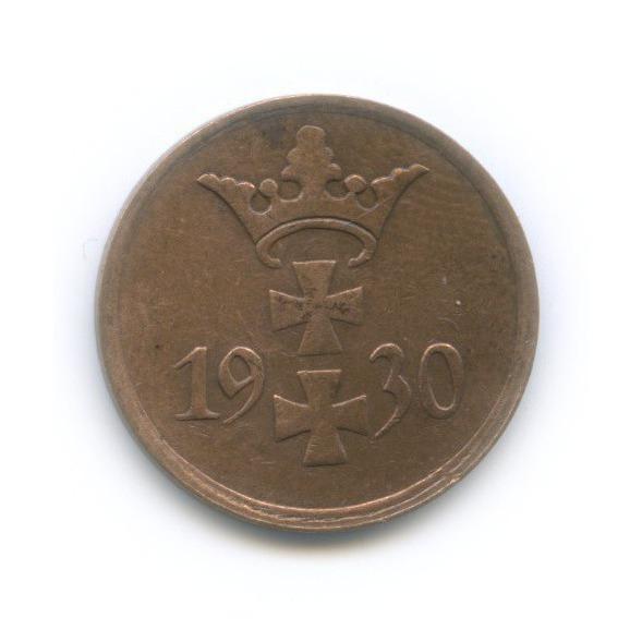 1 пфенниг, Данциг 1930 года
