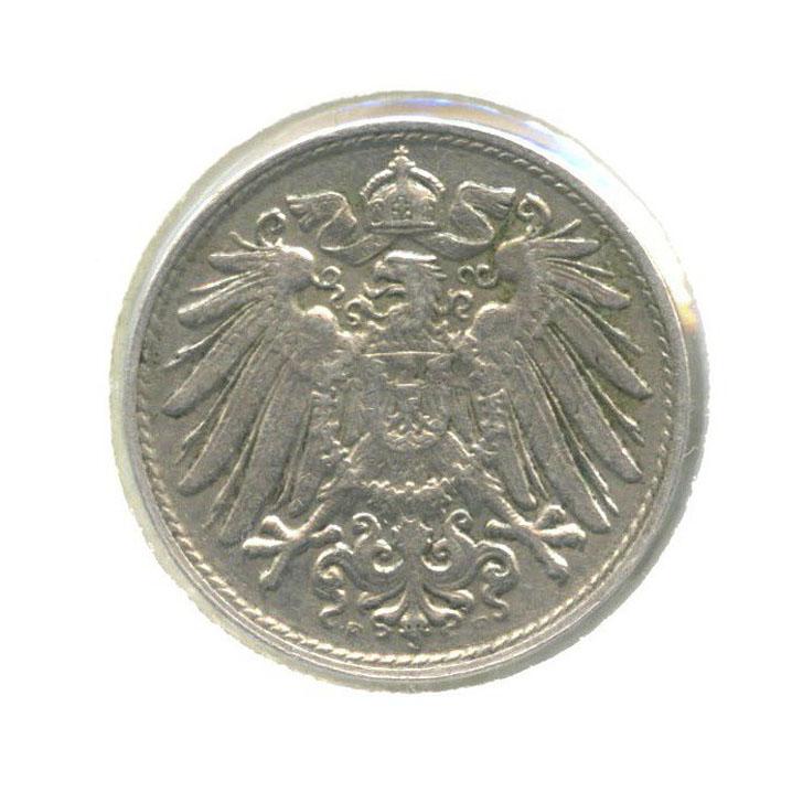 10 пфеннигов (вхолдере) 1914 года F (Германия)