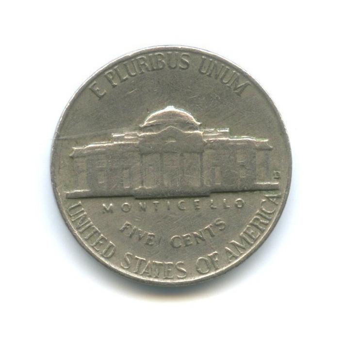 5 центов 1964 года D (США)