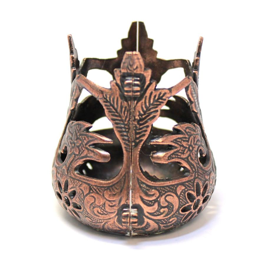 Подстаканник формы «Армуды» (медь, 7 см)