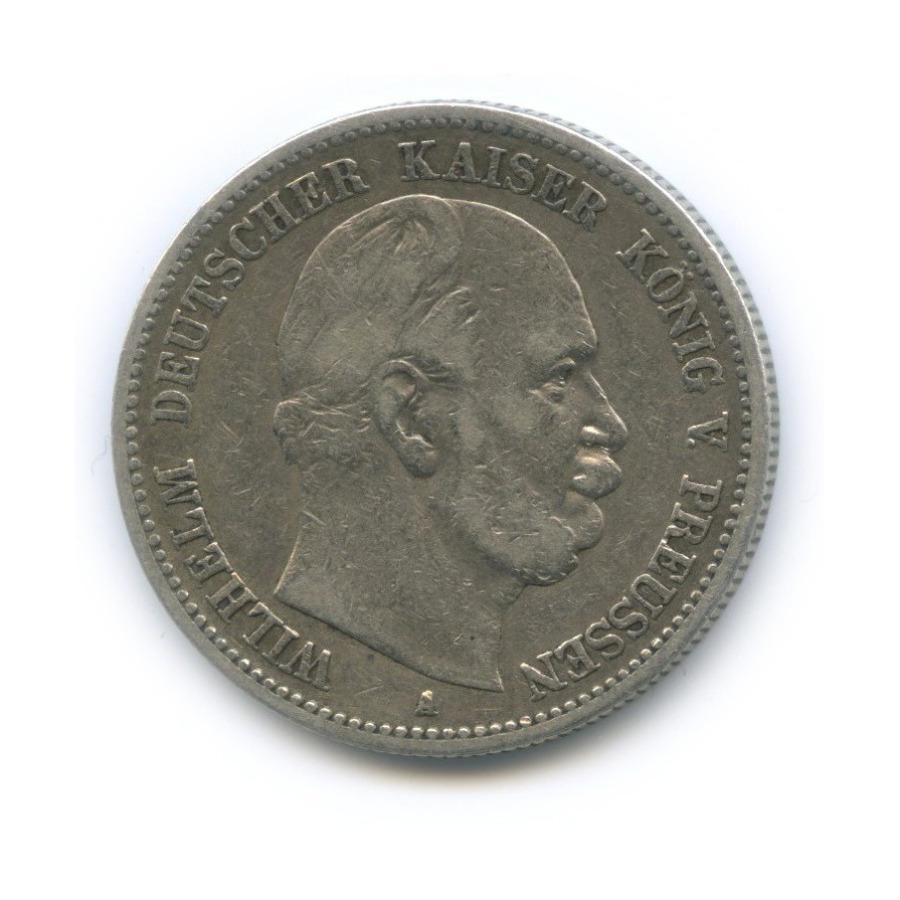 2 марки - Вильгельм I, Пруссия 1883 года А