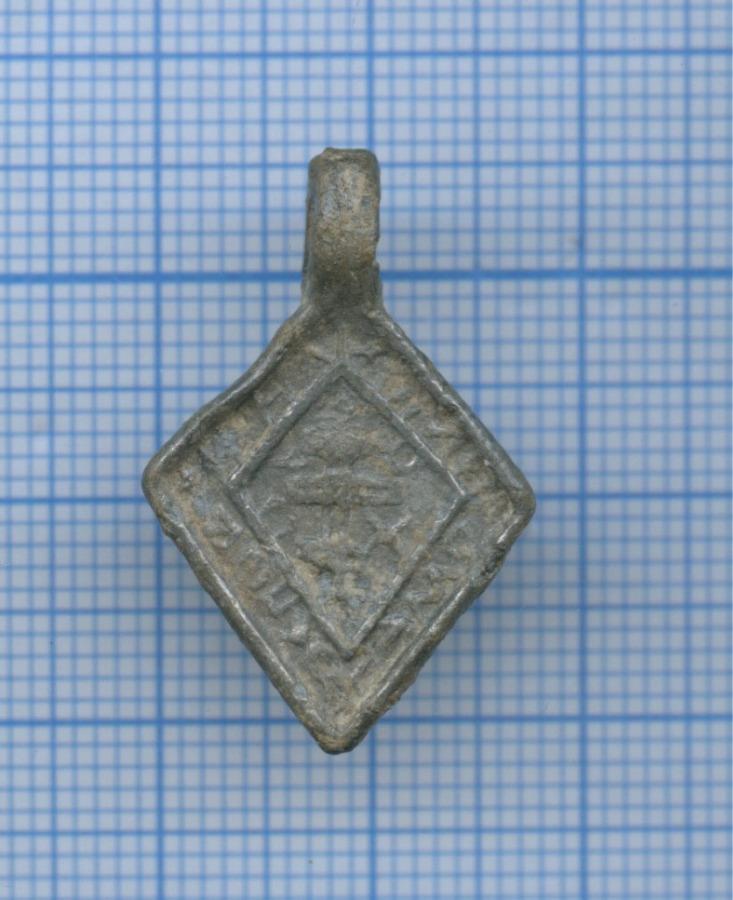 Образок оловянный «Ромб»