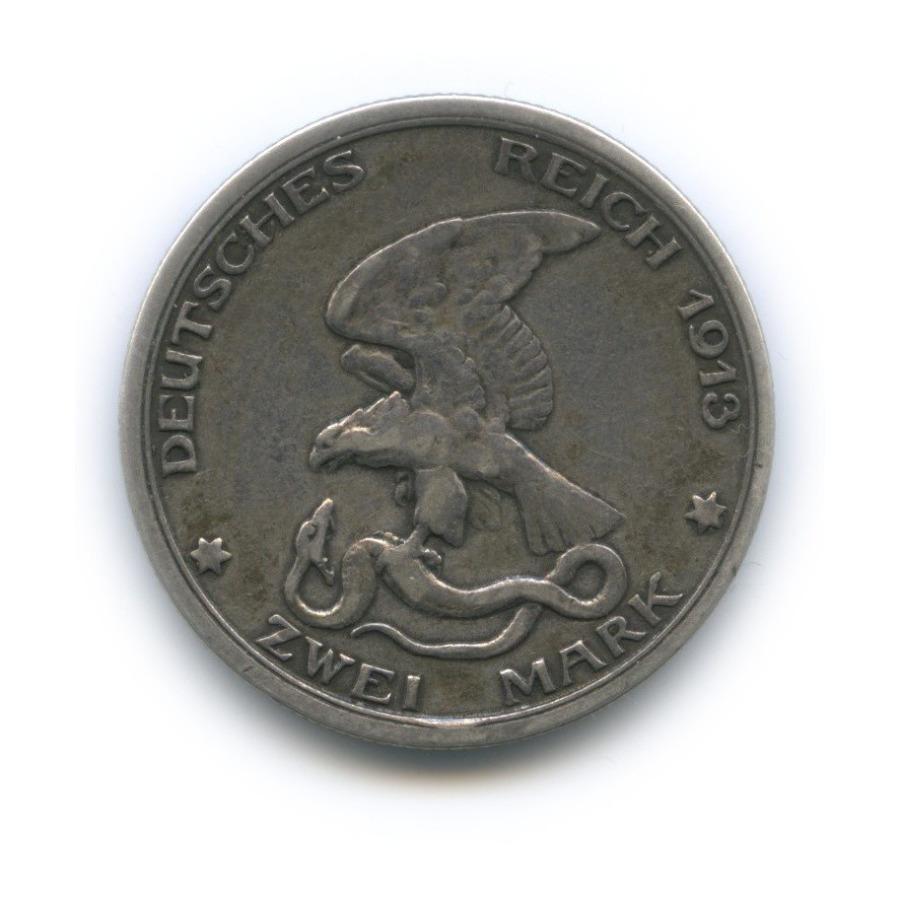 2 марки - 100-летие поражения Наполеона, Пруссия 1913 года