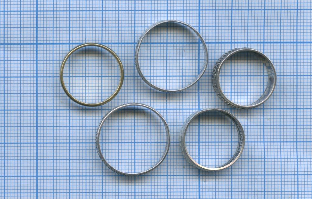 Набор колец (серебро 925 пробы)