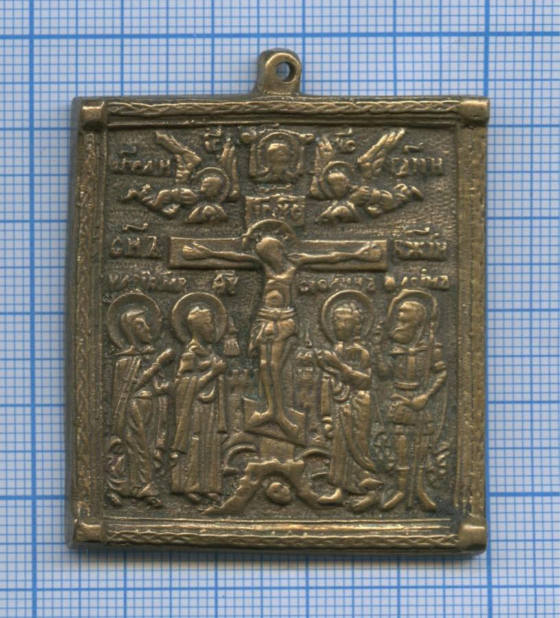 Иконка «Распятие Иисуса Христа» (литье)